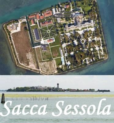 Sacca Sessola dite l'Isola delle Rose Venise