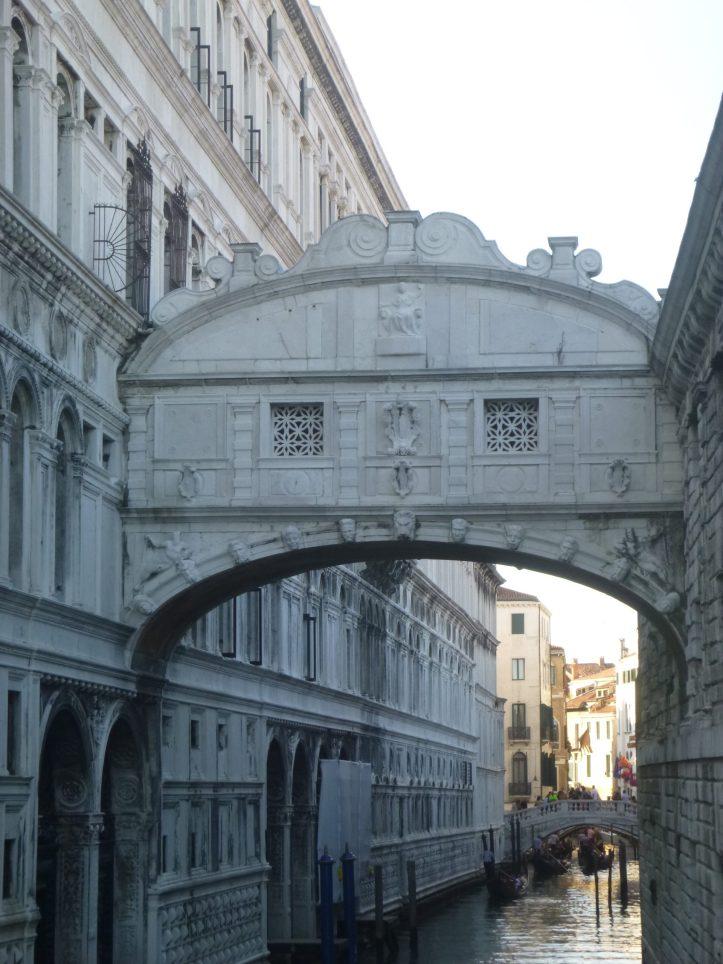 Que voir et visiter à Venise pont des soupirs