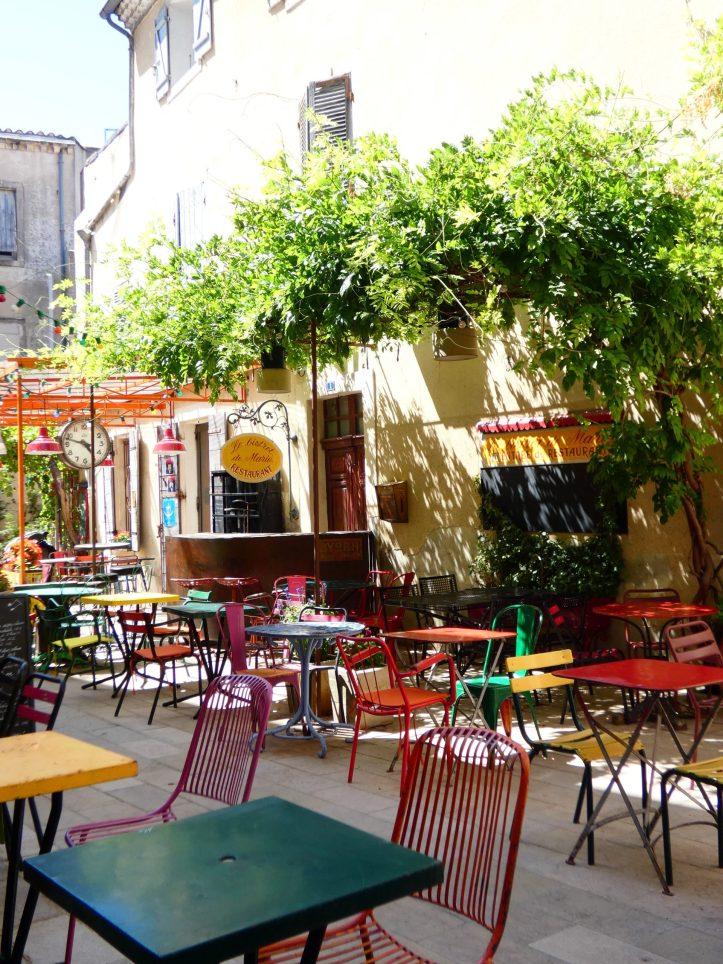 terrasse Visiter Saint Rémy de Provence
