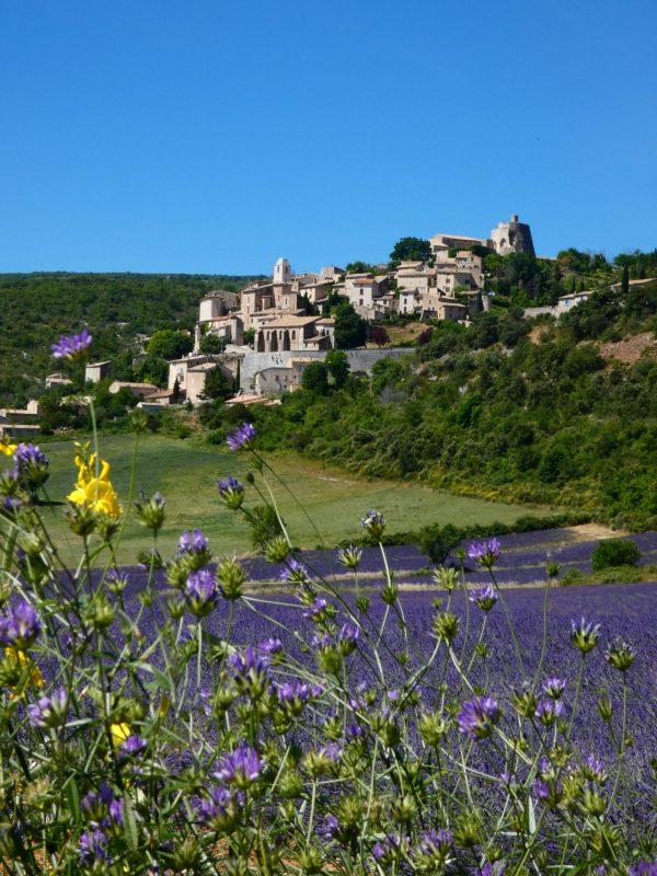 Provence lavandes, Ventoux villes et villages