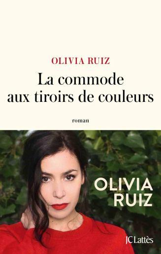 La commode aux tiroirs de couleurs rpman de Olivia Ruiz