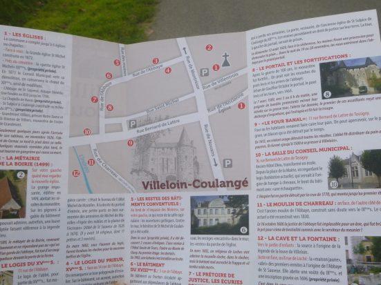 Circuit de visite de Villeloin-Coulangé
