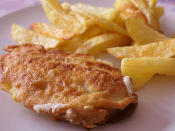 recette Fish and chip poisson pané frites