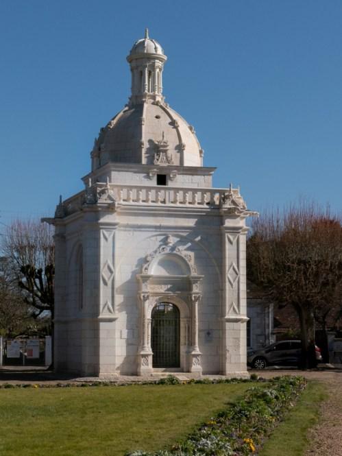 balade à Bléré chapelle renaissance