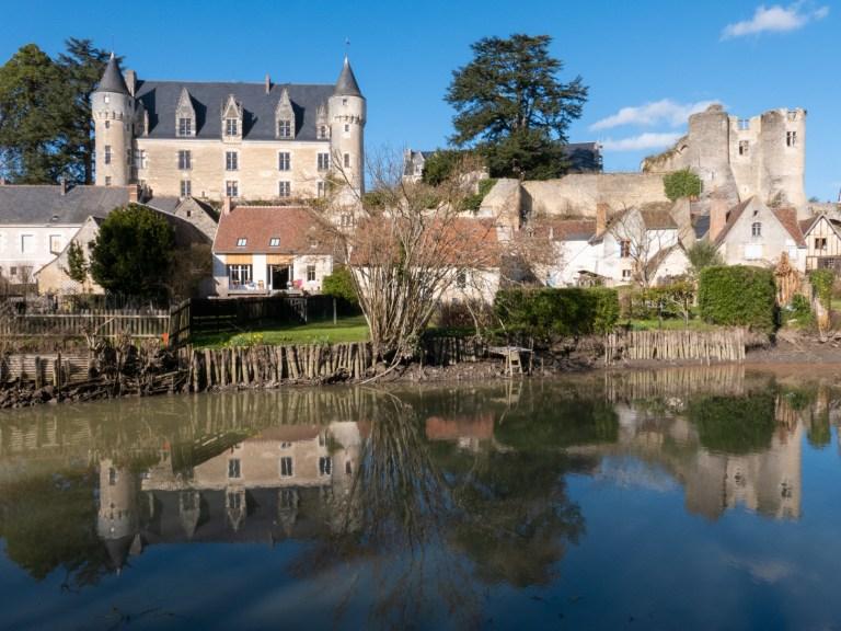 Visiter Montrésor château balcons de l'Indrois