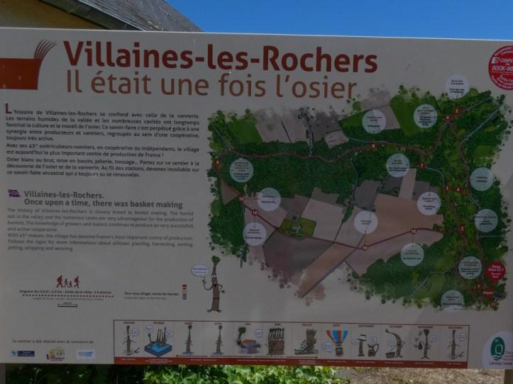 Visiter Villaines les Rochers musée de la vannerie osier
