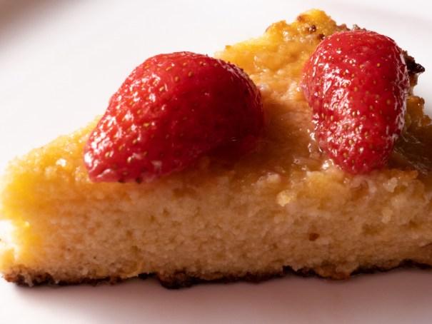 Recette de Lemon polenta cake citron polenta fraise