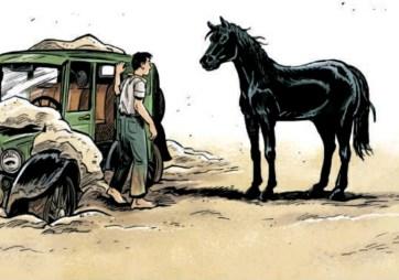 BD Jours de sable Aimée de Jongh