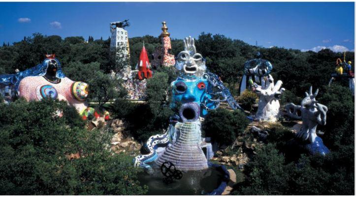 Le Jardin des monstres de Lorenza Pieri jardin des tarots niki de saint phalle
