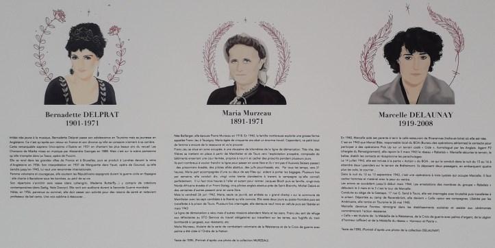 Illustres inconnues, portraits de femmes en Touraine  osez le féminisme