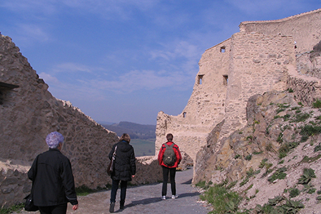 Rupea Fortress by lraul06