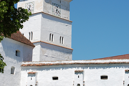 Harman Fortified Church by KL Mircea