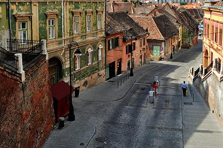 Sibiu Fortified City by Troy