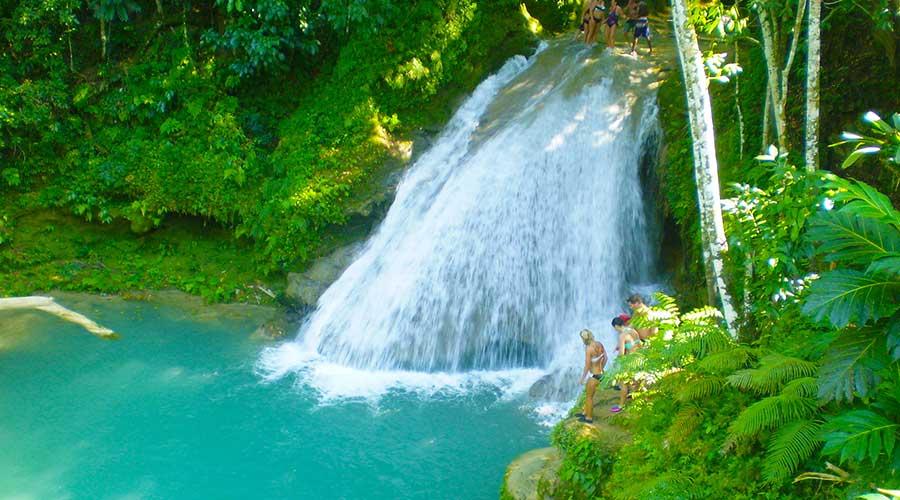 Blue Hole & Secret Falls, Ocho Rios