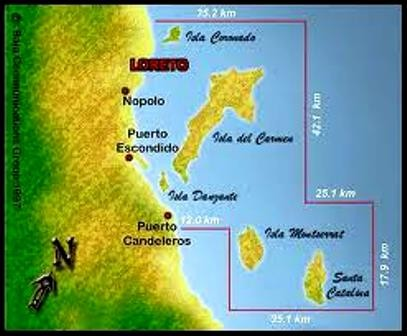 Loreto National Marine Park Baja California Sur