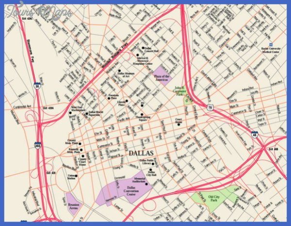 Dallas Fort Worth Subway Map ToursMapscom