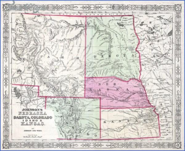 MAP OF MONTANA WYOMING IDAHO ToursMapscom
