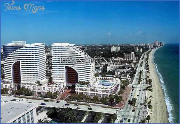 Hotel W Fort Lauderdale  ToursMapscom