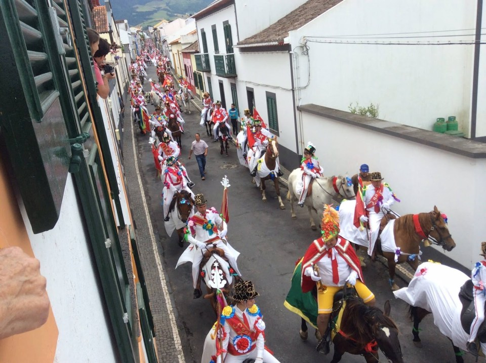 Festival of St. Peter horse show in Ribeira Grande during the month of June
