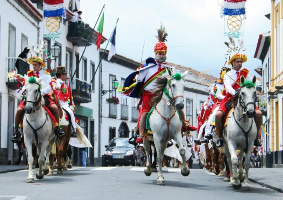 Azores Horse Festival Sao Pedro Ribeira Grande St Michaels Island