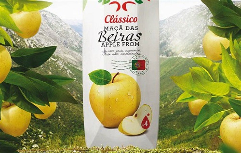 Compal-Maca-Beiras Apple from Portugal Azores