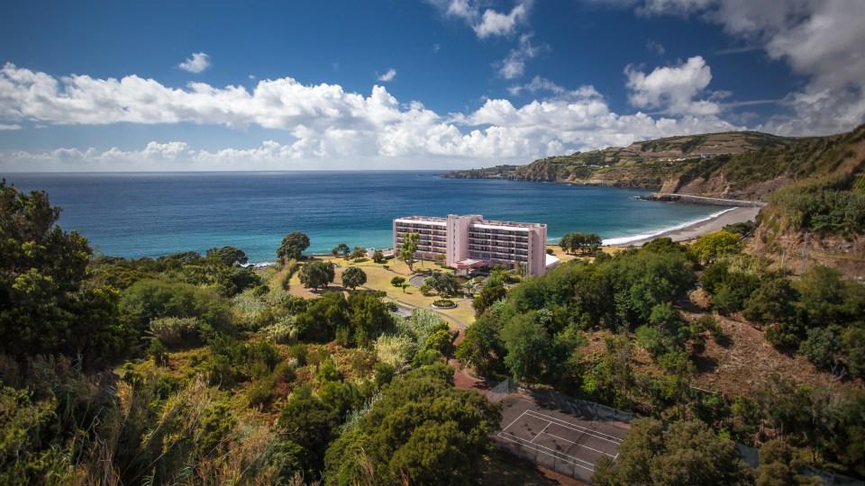 azores resort beach spa hotel restaurant