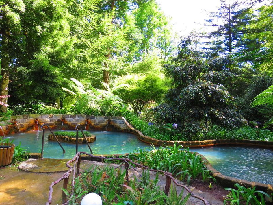 Azores mineral thermal pool furnas st michaels island azores