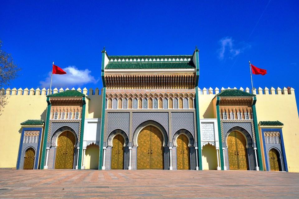 shah morroco palace king hussein