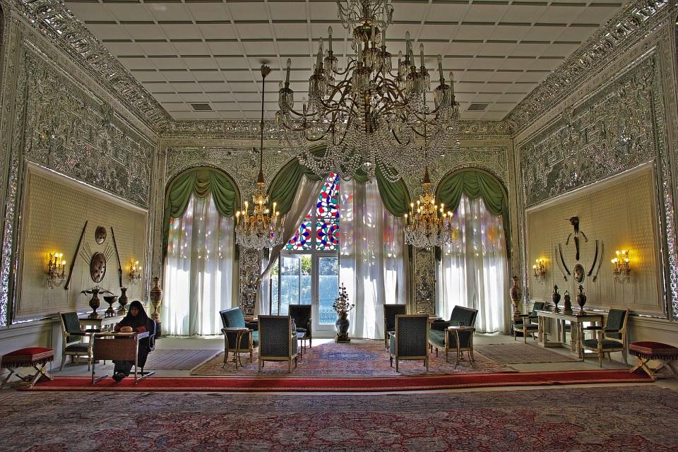 palace iran shah
