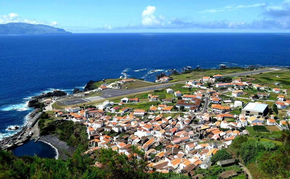 Corvo via Flores Airport in the Azores
