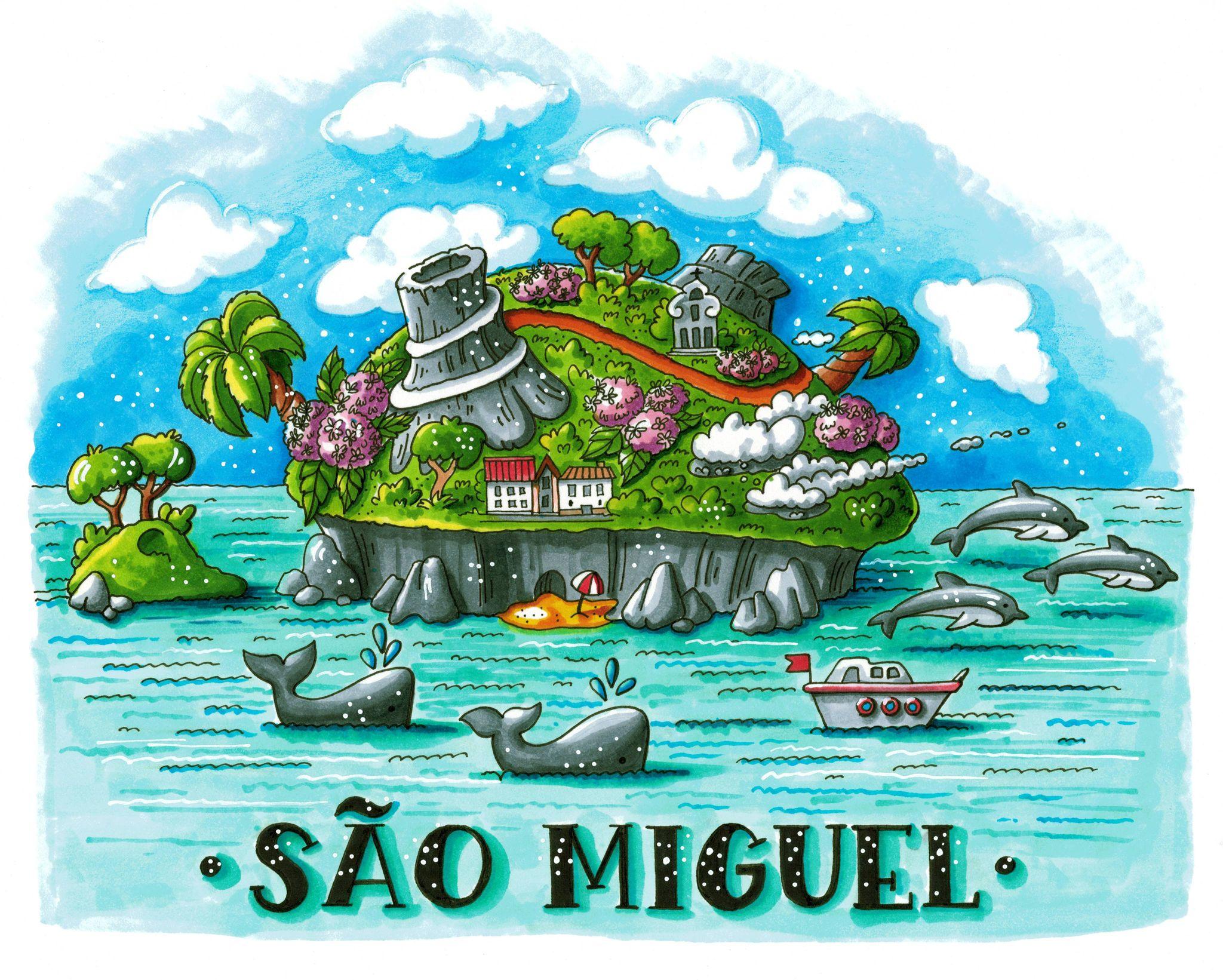 sao miguel island azores 5g