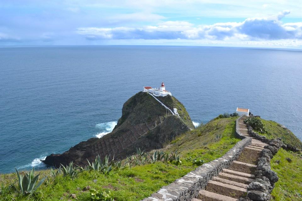 azores maia santa maria lighthouse tourisim