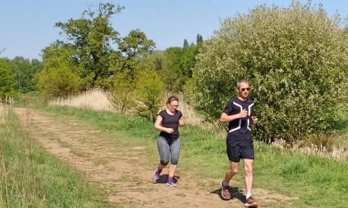 Running tour Mechelen in nature reserve Mechels Broek