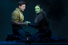 Curt Hansen and Talia Suskauser in the North American Tour of Wicked. Photo by Joan Marcus, 2017.