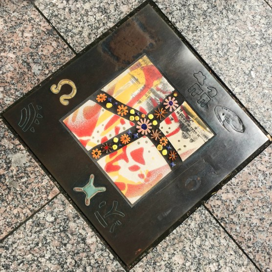 These tiles are found on the corner of 2nd and Main. A chronology of Utah history.