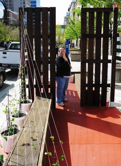 1st sidewalk Garden