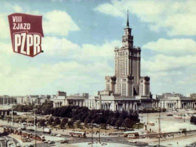 The Palace of Culture and Science – gift from Stalin
