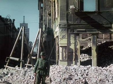 1944 – German soldier in destroyed Warsaw