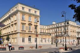 Czapski Palace where Chopin Salon used to be