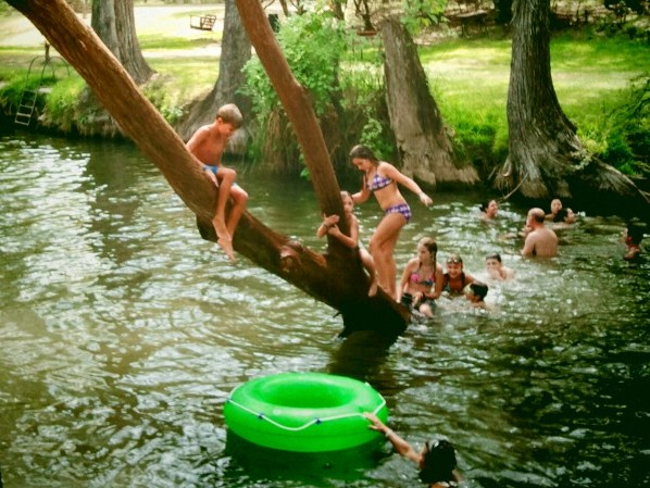 Blue Hole in Wimberley