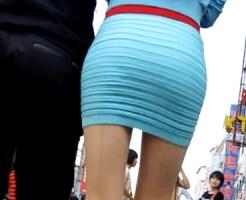 【海外盗撮動画】韓国のボディコンを着た最強クビレを持つ後ろ姿が最高の良い韓国人を街撮り盗撮www