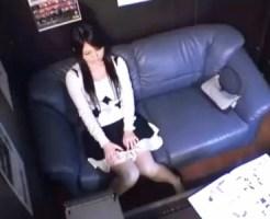 【オナニー盗撮動画】かなり可愛い清楚な女子がネカフェで開脚しながらクリオナが止まらないww