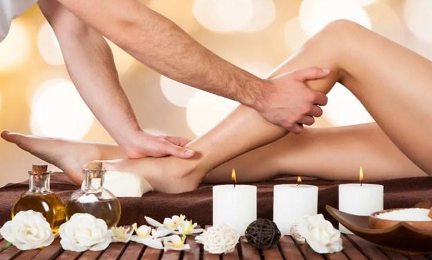 Ambiance salon de massage