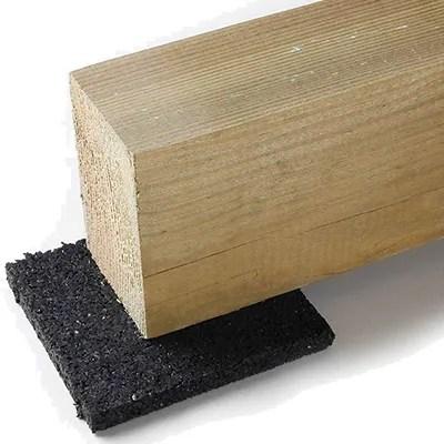Cales anti humidité base lambourdes terrasse bois
