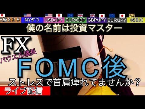 【FX】9/19 FOMC経過後の投資マスター