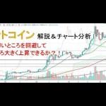 【仮想通貨 ビットコイン(BTC)】雲の薄いところを回避して大きく上昇できるか?!今後のシナリオをチャート分析12.8