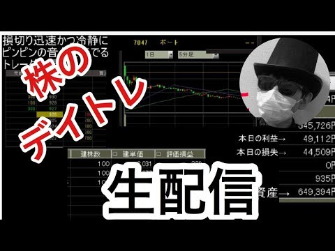 2/27前場 3日連続日経暴落!株のデイトレード スキャルピングで生活費を稼ぐ!FXライブ 株式投資