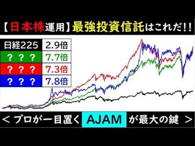 【+600%超!?】日本株運用・最強投資信託はこれで決まり!!