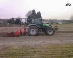 tracteur Deutz-Fahr TTV 1145