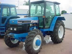 tracteur Ford 5640